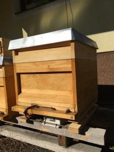 Bienenstock mit BeeSaver in Klagenfurt