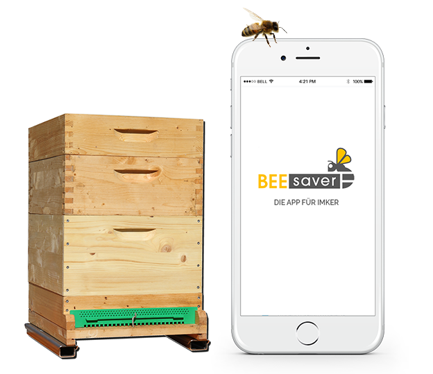 BeeSaver Bienenstockwaage und App